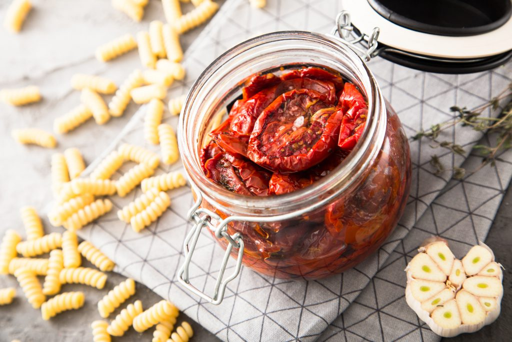 recette-pates-tomates-confites