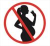 picto femme enceinte alcool