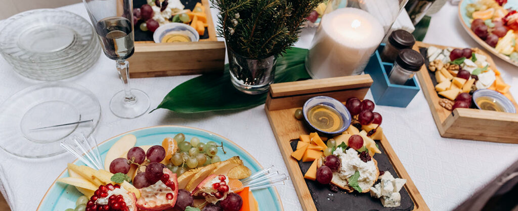 table-de-noel-vegetale