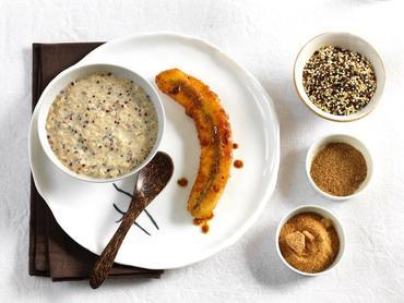 recette-Quinolait-et-bananes-caramelisees-aux-epices